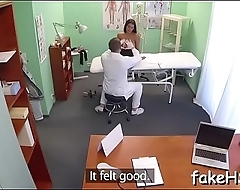 Burning excitement during sex with doctor