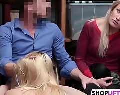 Shoplifting Mom Plus Daughter Get Punished