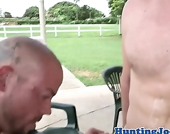 Cum spraying stud buttfucked not allowed