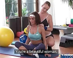 Lesbian workout for big tits cutie(Anabelle Lili &amp_ Victoria Pure) 01 mov-19