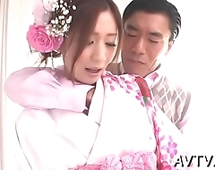 Exploring a juicy and shaggy oriental cunt