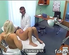 Lascivious doctor bonks inside fake hospital