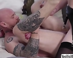 Buck gets say no to pussy rammed by TS Mandy - yesvisitme.com/trans