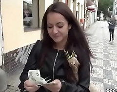 Unprofessional Euro Slut Seduces Tourist Be fitting of Public Fuck 17