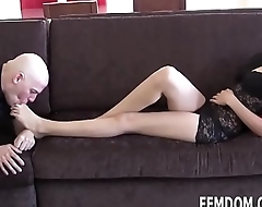 Your foot fetish is a real turn on